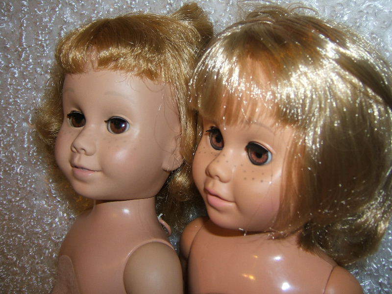 chatty cathy Doll Brown Eyed Blonde Bob and Prototype Dolls